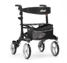Carbon Fibre Nitro Elite Light Weight Seat Walker - Outdoor Rollator *Brand New*