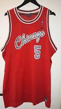 jersey Basketball NBA Chicago Bulls Rose nike 3xl red
