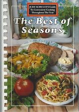 EDMONDTON ALBERTA JOURNAL CANADA 1989 COOK BOOK BEST OF SEASONS by JUDY SCHULTZ