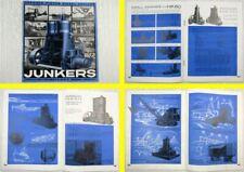 Prospekt Junkers 1 2 HK Opposed Piston Diesel Engines Brochure 1930 Dessau