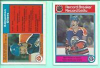 1982-83 O-Pee-Chee OPC Wayne Gretzky U PICK #1 #99 Scoring Leader Record Breaker