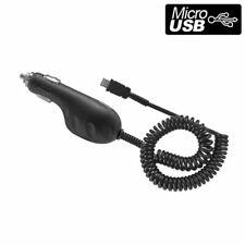 Cellet Black Premium 800 mAh Micro USB Cable Car Charger