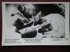 POSTCARD SPACECRAFTS - MERCURY CAPSULE & GEMINI 2 MAN CRAFT