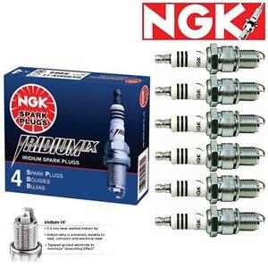 6 Pack NGK Iridium IX Spark Plugs for 67-72 Toyota Crown 2.3L 2.6L L6