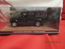 JAMES BOND CARS COLLECTION 085 LAND ROVER DEFENDER Casino Royale