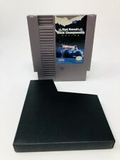 World Championship Racing, Nigel Mansell's NES Nintendo Game Cleaned & Tested