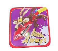 "Acme ""Bombs Away!"" Looney Tunes 1997 Warner Bros. Metal coin bank"
