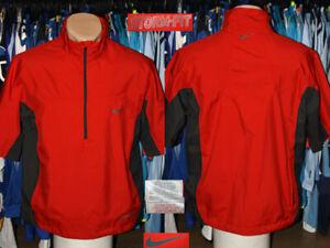 Nike Golf Storm Fit 1/2 Zip T-Shirt Style Light Jacket Coat Training Practice