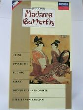 Madama Butterfly Puccini Cassettes and Booklet C205616