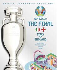 More details for england v italy - official uefa 2020 euro final programme - 11 july 2021 - mint.