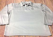 Cirrus Aircraft Men's Gray 2Xl Quarter Zip Pullover Shirt