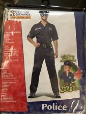 NWT Men's Police Costume Size XL