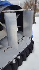 Aerodynamic Aluminum Rudder Air Foil Custom Air boat hovercraft