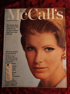 McCALL'S September 1965 Sept 65 Vicky Hilbert Barbara Robinson Betsy Mccall
