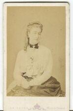 Cdv - Le Jeune - L'impératrice Eugénie. Ca. 1870