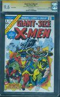 Giant Size X Men 1 CGC SS 9.6 Stan Lee Len Wein 2 Signed 1999 German Ed no 8