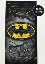 Batman DC Marvel Bath Beach Towel 100% Cotton Super Soft Absorbent