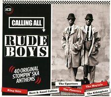 Calling All Rude Boys 2 CD 40 Original Stompin Ska Anthems