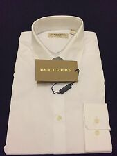 Burberry Mans White Shirt