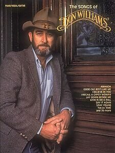 The Songs of Don Williams Sheet Music Piano Vocal Guitar Songbook NEW 000358578