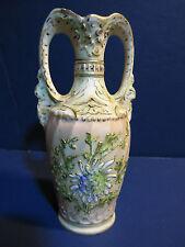 Rare Antique Ernst Wahliss Wien Teplitz Amphora Porcelain Urn Austria c1894-1918