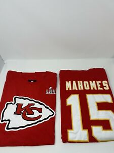 Kansas City Chiefs Patrick Mahomes Fanatics Jersey Shirt Super Bowl 54 LIV XL