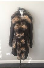 Women's Winter Coat With Genuine Fur Collar. By JEKEL.Paris $3000