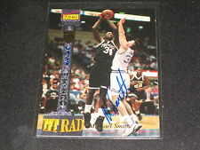 MICHAEL SMITH ROOKIE HAND SIGNED AUTOGRAPHED CERTIFIED AUTHENTIC CARD #D