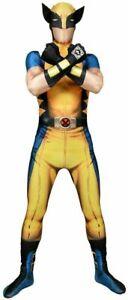 Marvel Digital Wolverine Morphsuit Superhero Funny Adult Men's Large