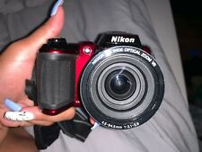 Nikon COOLPIX L120 14.1MP Digital Camera - Red (26254)