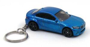 2016 BMW M2 Blue Key Chain Ring Fob Keychain