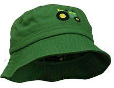 NEW John Deere Infant Size Green Tractor Bucket Hat Cap  LP73347