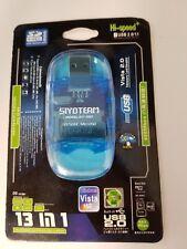 Hi-speed 13 in 1 Multi Slot USB 2.0 Card Reader/Writer