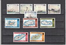Alderney Jahrgang 1987 - 1989 postfrisch 32-41
