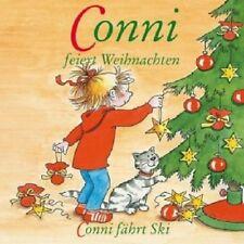 CONNI - 6: CONNI FEIERT WEIHNACHTEN/CONNI FÄHRT SKI  CD  6 TRACKS HÖRSPIEL NEU