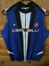 Castelli Sleeveless Cycling Jersey Large - pearl assos izumi