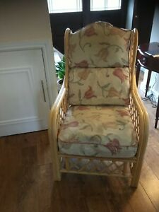 wicker conservatory furniture used