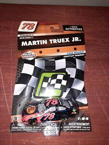 MARTIN TRUEX JR 2018 BASS PRO RACED 1:64 NASCAR AUTHENTICS WAVE 11 DIECAST CAR