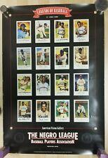 Lot of 2 - Premium Poster Print LEGENDS OF NEGRO LEAGUE BASEBALL & Legends II 2