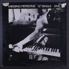 MISSING PERSONS: Give 12 (PC, 3 tags on cover, promo stamp on cover, minor cove