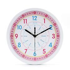 """Sharp Analog Atomic Wall Clock, Self-Adjusting,14"""" Diameter,Free Shipping"""