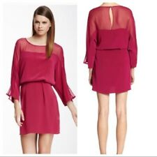 Medium NWT Elizabeth & James Silk Magenta Dress