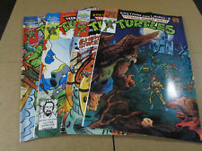 Lot 4 TMNT Teenage Mutant Ninja Turtles Adventures Comics #5, 6, 10, 27