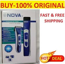 Nova Rechargeable Professional Hair Trimmer Razor Shaving Machine With Clipper
