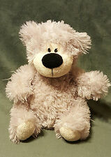 """QUALITY SOFT TOYS CUDDLES COLLECTION GREY FLUFFY BEAR 10"""" TALL"""