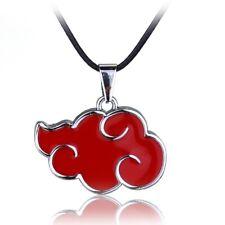 Anime Naruto Sasuke Itachi Akatsuki Cloud Red Pendant Necklace Jewelry  Lssed