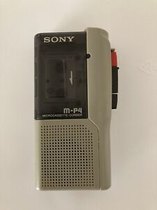 Sony M-P4 Microcassette Recorder - Works Great