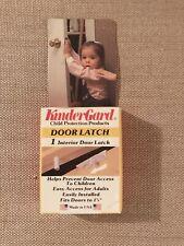 New KinderGard Child Safety Door Lock Latch