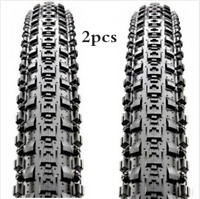 2 x Maxxis Crossmark Bike Tyres MTB Mountain Bike Bycicle Cycling Tires 26x2.10