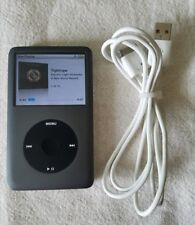 iPod Classic 160GB 7th Generation Grey Latest Edition Mint Condition Warranty